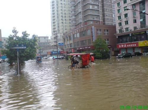 Последствия тайфуна «Моракот» в Тайване и континентальном Китае. Фото c epochtimes.com