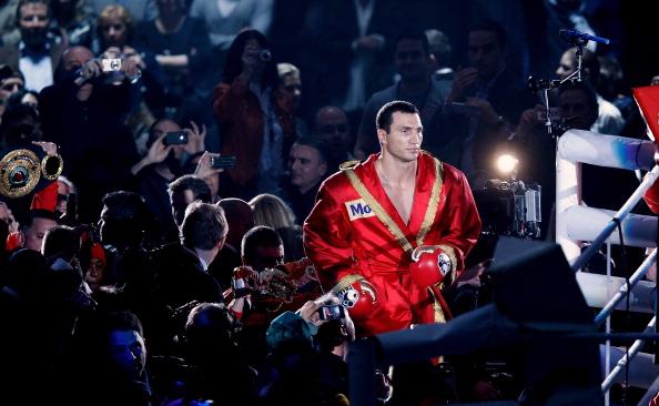 Владимир Кличко - Жан Марк Мормек. Фото: Friedemann Vogel/Bongarts/Getty Images