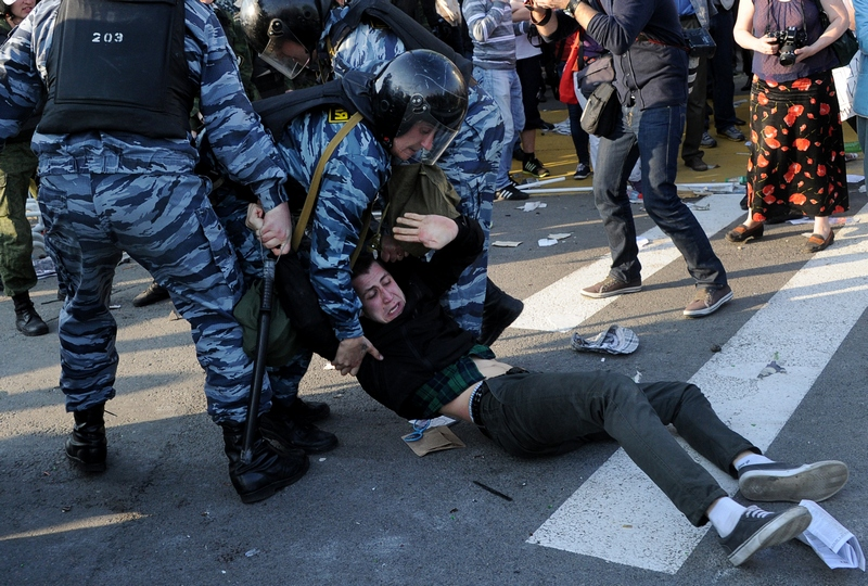 «Марш мільйонів» у Москві. Фото: NATALIA KOLESNIKOVA/AFP/GettyImages