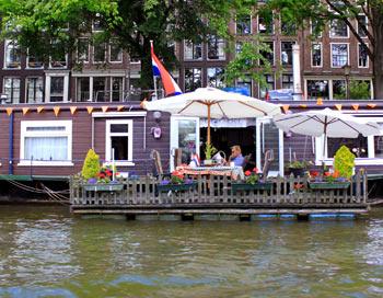 Амстердам. Життя на воді. Фото: Ірина Рудська / The Epoch Times