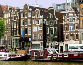Амстердам, будинки. Фото: Ірина Рудська / The Epoch Times