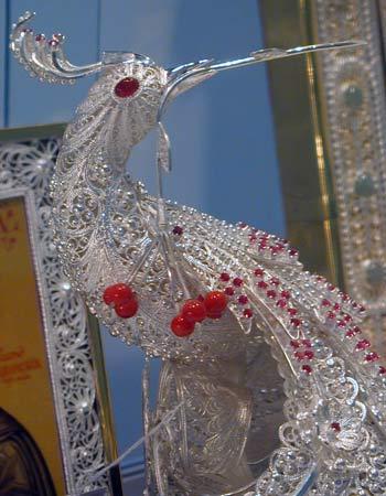 «Дорогоцінний зорепад». Фото надане організаторами «Нижегородської ярмарки»