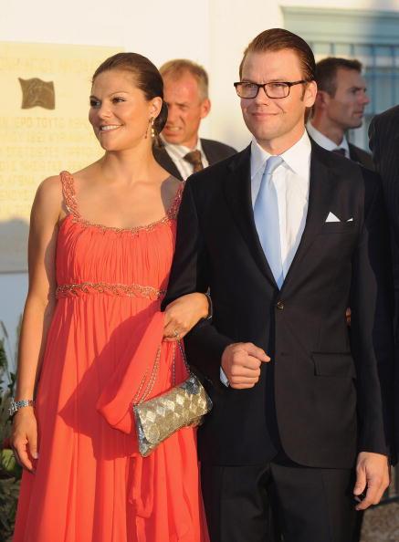 Гости на свадьбе принца Греции Николаоса и Татьяны Блатник. Принц Даниил и принцесса Виктория из Швеции. Фоторепортаж. Фото: Chris Jackson/Getty Images