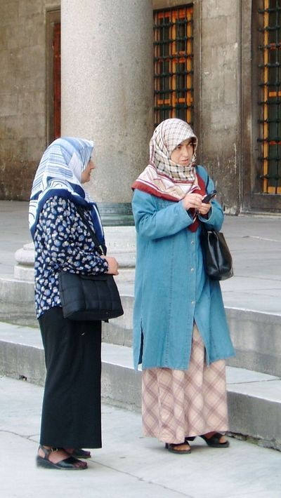 Молодые турчанки. Фото: Ирина Рудская. The Epoch Times
