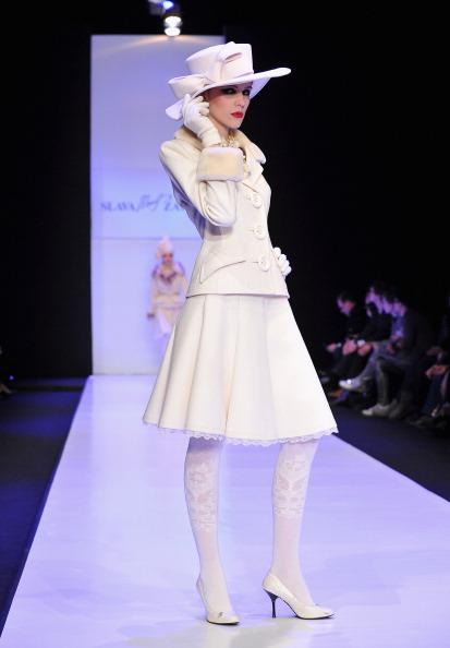 Слава Зайцев(Slava Zaitsev) на Неделе моды Mercedes-Benz Fashion Week Russia. Фото: Pascal Le Segretain/Getty Images