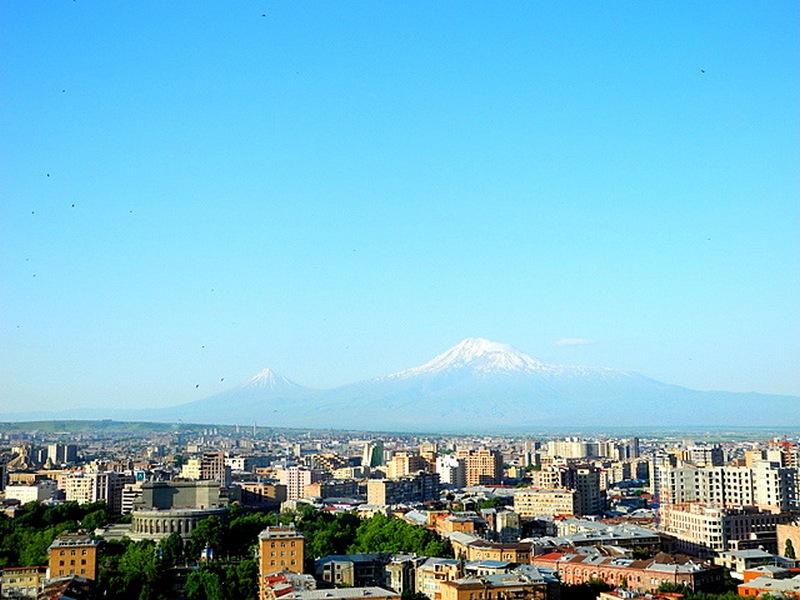 Арарат, краєвид з Каскаду. Фото: Алла Лавриненко/Велика Епоха