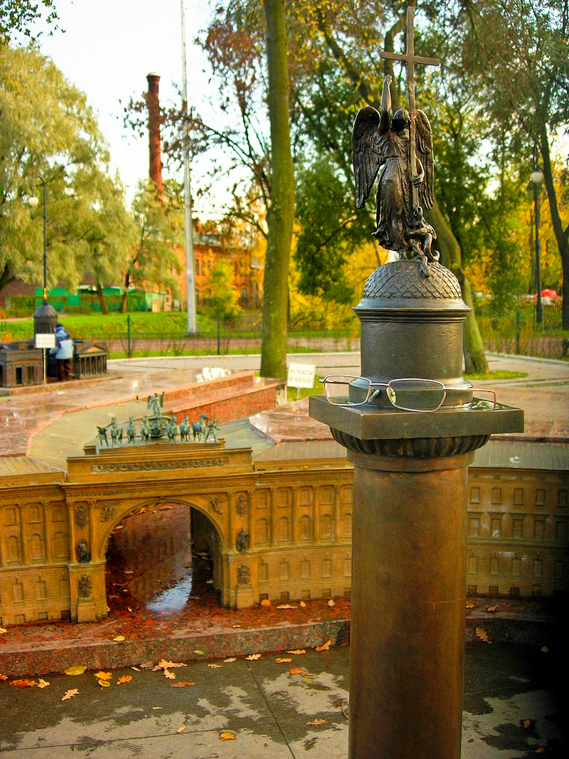 Олександрівська колона. Фото: Алла Лавриненко/The Epoch Times Україна