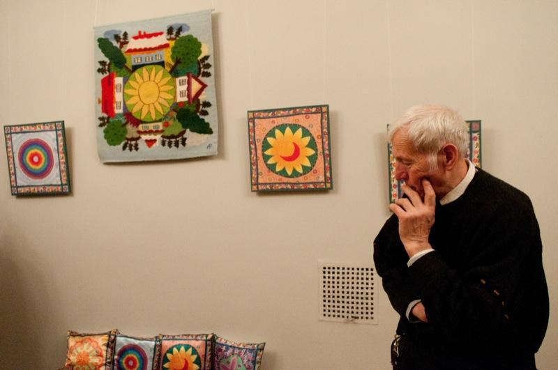 Анжеліка Рудницька представила понад 150 власних художніх творів. Фото: Володимир Бородін/The Epoch Times Україна