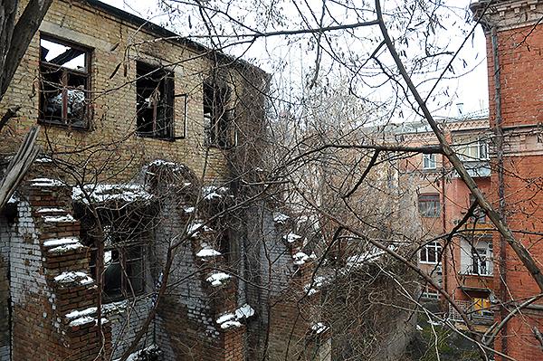Дом на Софиевской 21. Фото: Владимир Бородин/The Epoch Times Украина