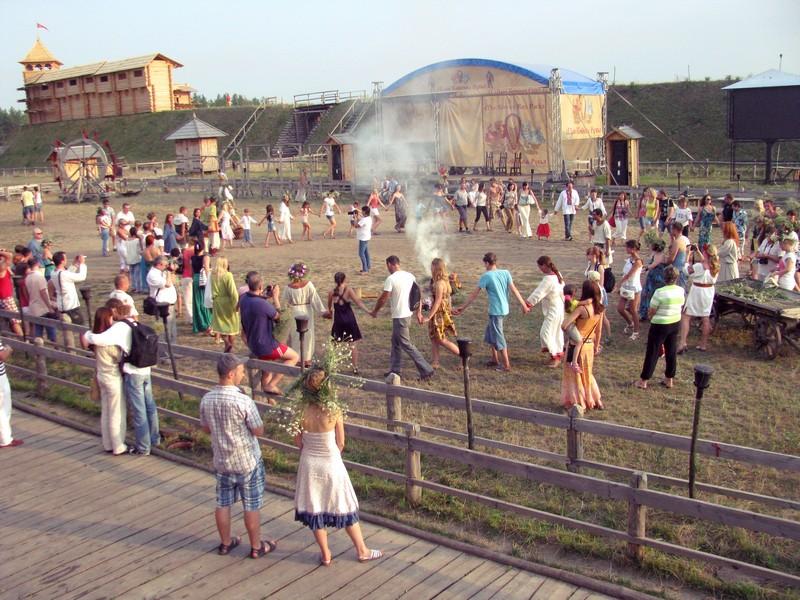 Святкування Купала під Києвом у 2012 році. Фото: Іван Ярошенко/Велика Епоха