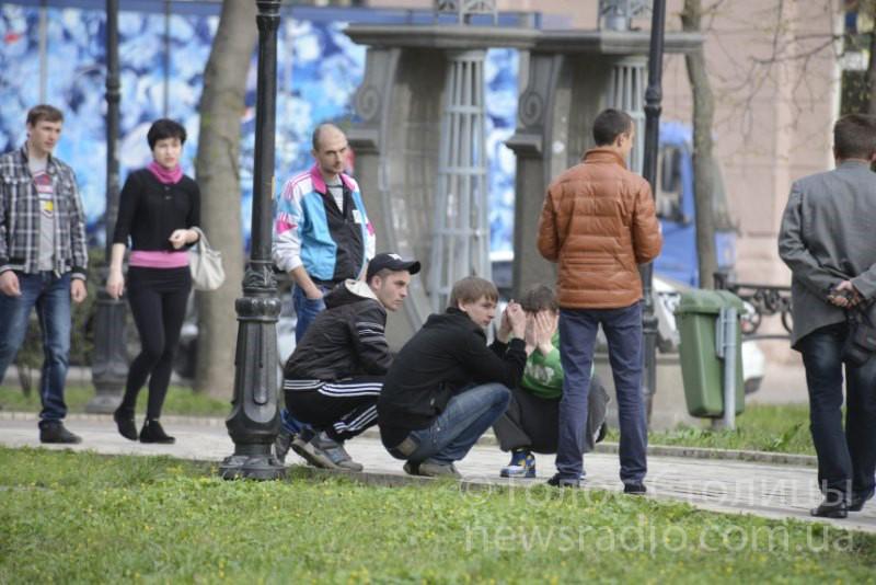 Акції хотіли перешкодити провокатори. Фото: Макс Перепилиця/Голос Столиці