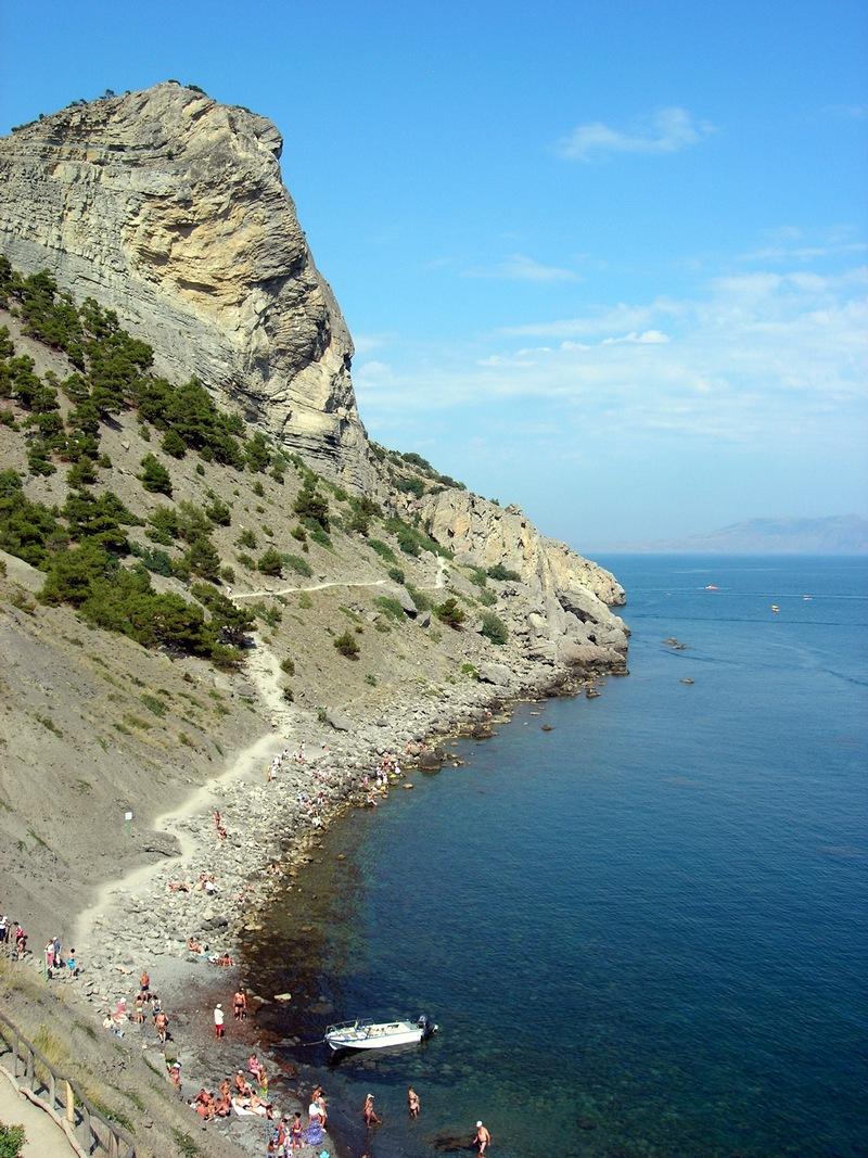 Новий світ, Крим, вид на гору Орел і стежку Голіцина. Фото: Алла Лавриненко/Велика Епоха