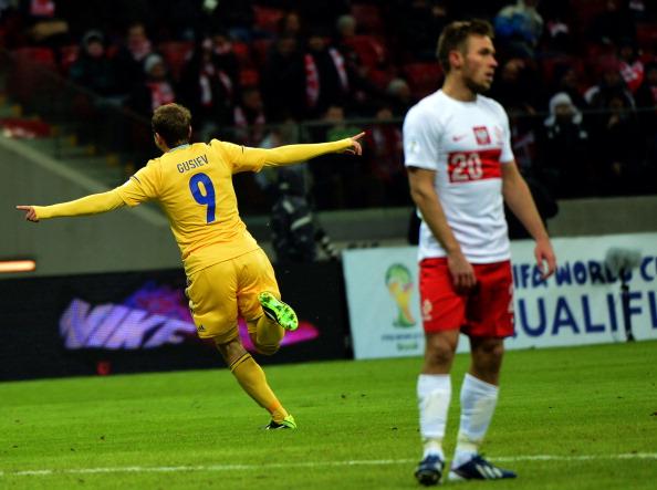 Польша — Украина. Фото: Getty Images Sport