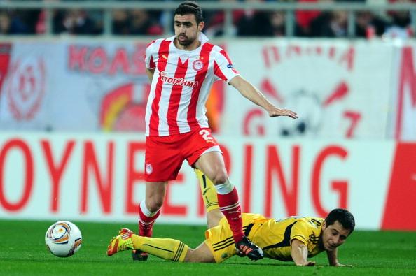 Олимпиакос – Металлист Фото: ARIS MESSINIS /Getty Images Sport