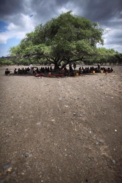 Отдаленное племя Теркана из северной части Кении. Фото: Christopher Furlong/Getty Images