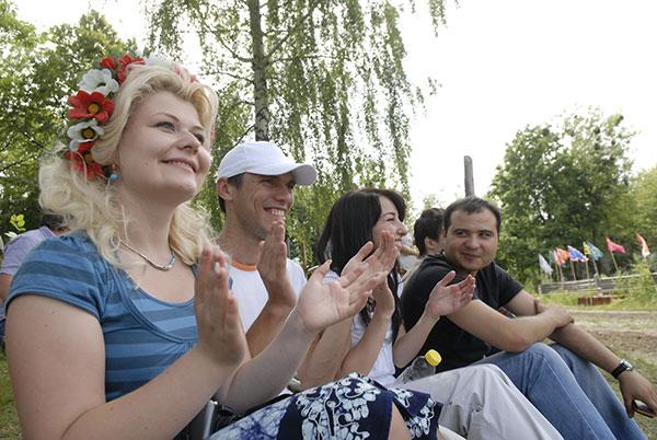 Фестиваль україно-кримськотатарської традиційної культури «Козацький розгардіяш», 19 червня 2010 р. Фото: Володимир Бородін/The Epoch Times