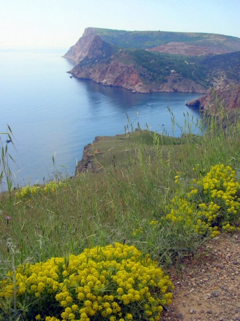 Вид на скалу Мотыль, Балаклава. Фото: Алла Лавриненко/Велика Епоха