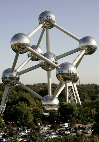 The Atomium в Брюсселі (Бельгія). Фото: Mark Renders / Getty Images