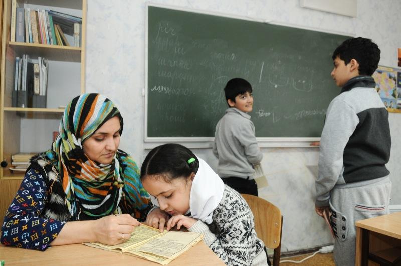 Навчання в інтеграційному центрі в Києві. Фото: Володимир Бородін/Велика Епоха