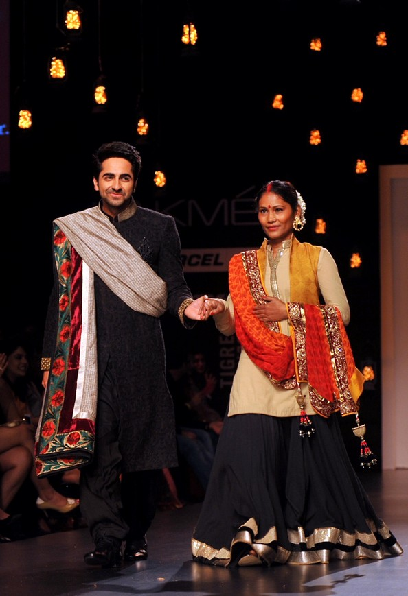 Индийская неделя моды Lakme Fashion Week. Фото: STRDEL/AFP/Getty Images