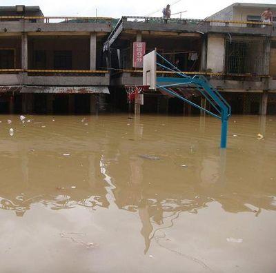 От сильных ливней пострадал г.Дунгуань провинции Гуандун. Фото с aboluowang.com