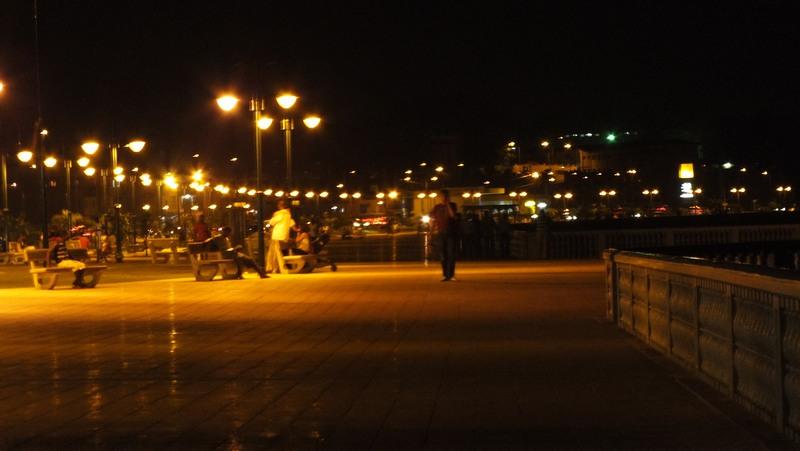 Вечір на набережній Бати. Фото: Олександр Африканець