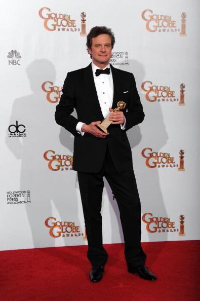 Золотой глобус — победители 2011. Колин Ферт. Фото: Kevin Winter/Getty Images