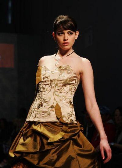 Коллекция Basquesse на неделе моды в Новой Зеландии 18 сентября. Фото: Tim Hales/Getty Images