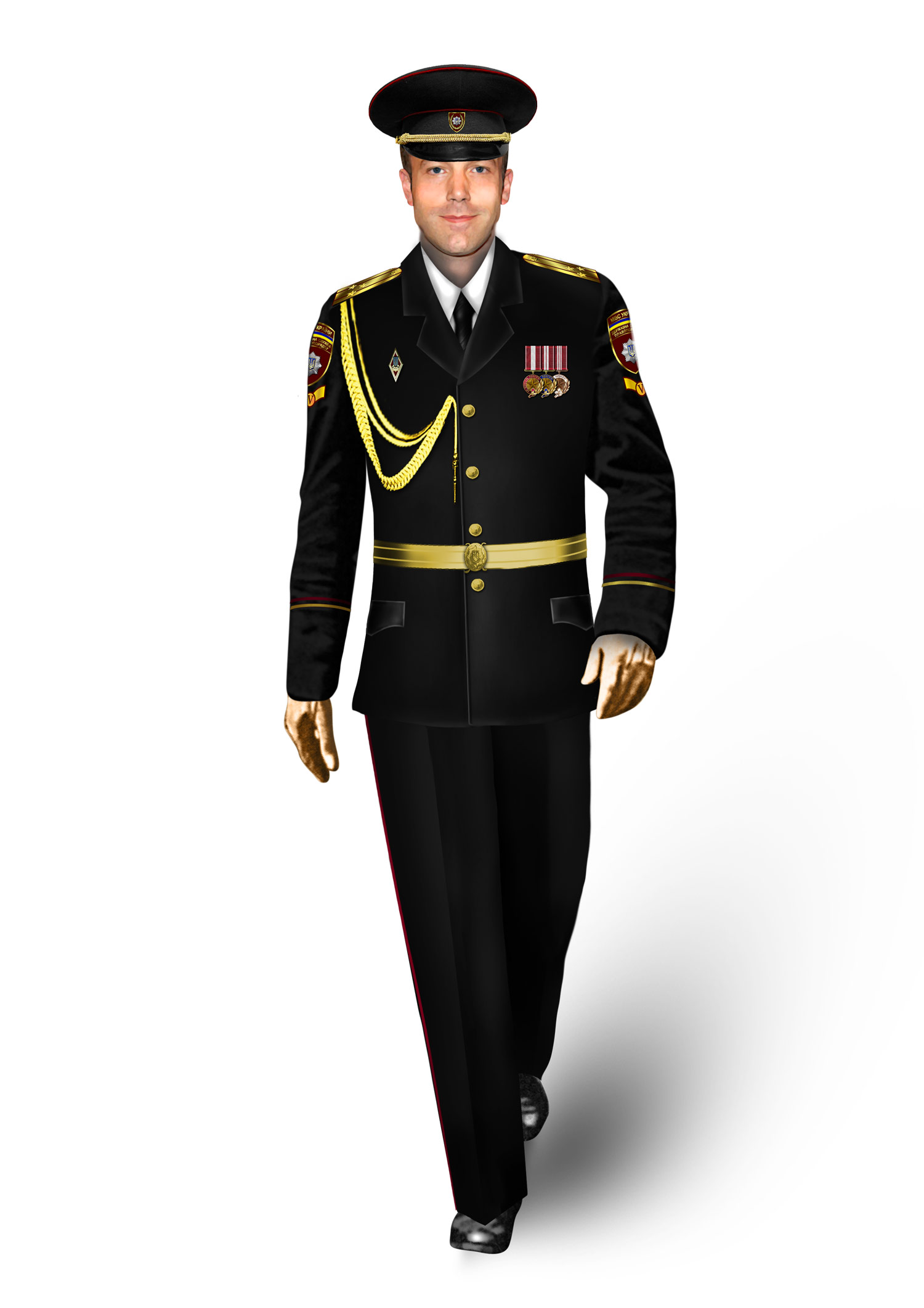 Новая военная форма. Фото предоставлено производственным концерном «Военторг ДиСи»