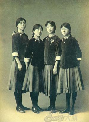 Ученицы пекинской женской средней школы. Фото с epochtimes.com