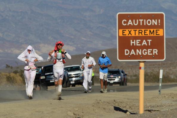 Європа, Ірак та США потерпають від аномальної спеки. Фото: David McNew/Getty Images