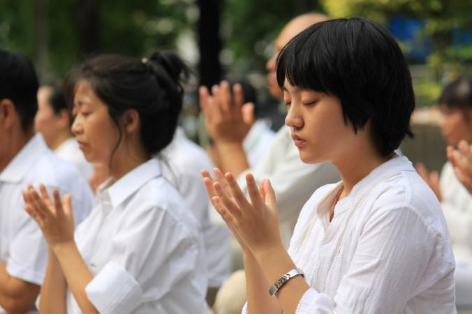 Бангкок, Таиланд. День памяти погибших от репрессий практикующих Фалунь Дафа. Фото: Великая Эпоха