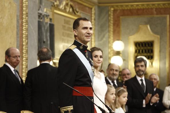 Торжества по поводу коронации Фелипе VI, Мадрид, Испания, 19июня 2014года. Фото: Europa Press/Europa Press via Getty Images