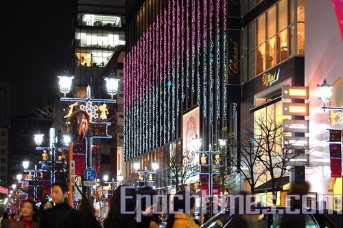 Рождество в Японии. Фото: epochtimes.com