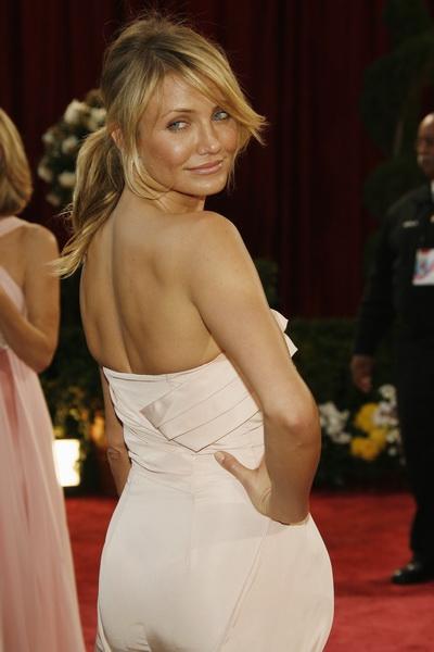 Актриса Кэмерон Диаз на вручении призов Киноакадемии США «Оскар» в 2008 году. Фото: Vince Bucci/Getty Images