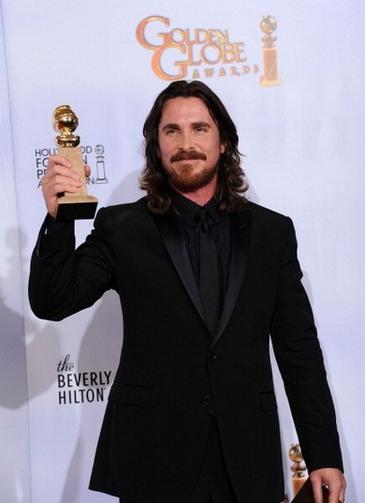 Золотой глобус — победители 2011. Кристиан Бейл. Фото: Kevin Winter/Getty Images