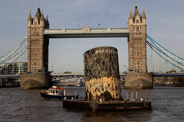«Титаник». Выставка артефактов в Лондоне. Фото: Oli Scarff/Getty Images