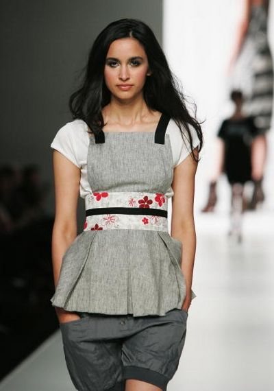Колекція одягу від дизайнера Body. Фото: Gaye Gerard/Getty Images