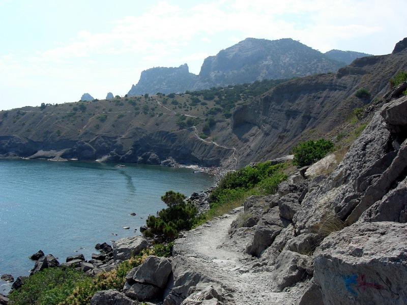 Крым, Новый свет, тропа Голицына ведёт к Синей бухте. Фото: Алла Лавриненко/Великая Эпоха