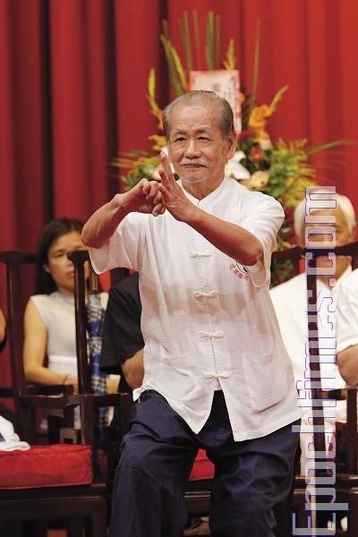 Мастер школы Удан Чжуннань. Фото: Лянь Ли. The Epoch Times
