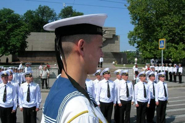 День национальных Военно-Морских Сил, а также моряков морского и речного флотов - День флота Украины. Фото: Алла Лавриненко/ The Epoch Times Украина