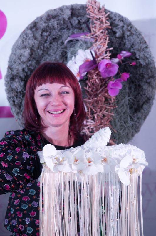 Фестиваль цветочных идей Flower Party прошёл в Киеве 4 февраля 2012 года. Фото: Владимир Бородин/The Epoch Times Украина