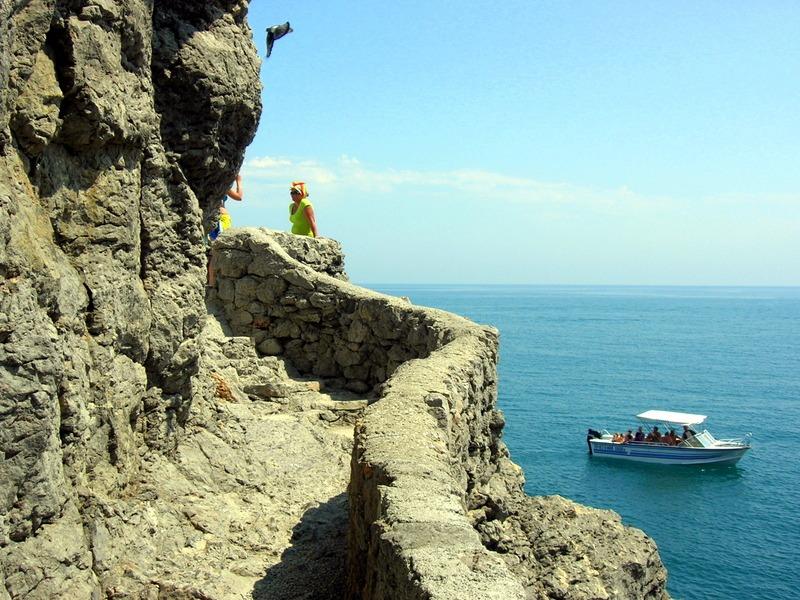 Крым, Новый свет, смотровая площадка на тропе Голицына. Фото: Алла Лавриненко/Великая Эпоха
