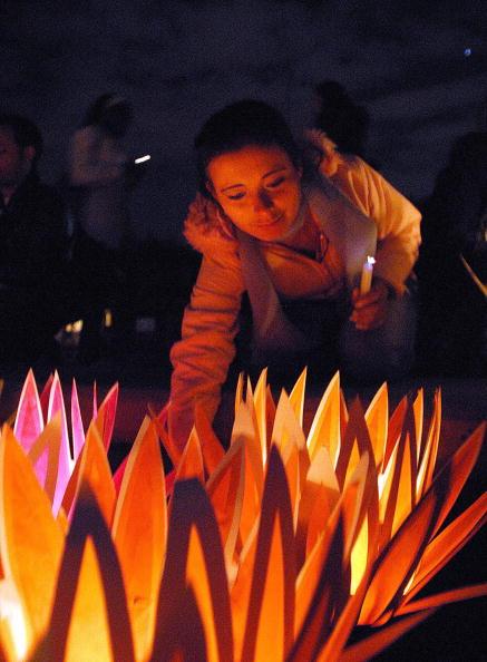 Богота (Колумбия). Мероприятия, посвящённые Дню прав человека. 10 декабря. 2008 г. Фото: GETTY IMAGES