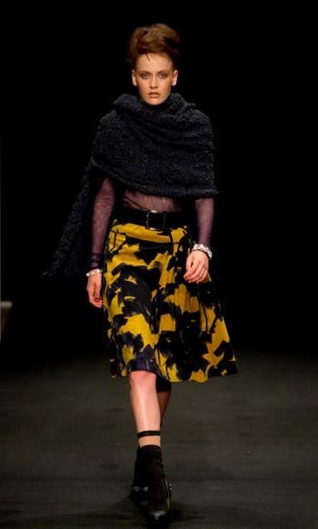 Коллекция от дизайнеров Andrea Moore & Silverdale, которая была представлена на Неделе моды в Новой Зеландии 23 сентября. Фото: Phil Walter/Getty Images