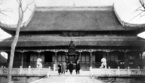 Монастырь Тяньюй. 1936 г. Фото: Ernest H•Forster