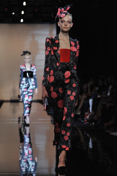 Джорджо Армани (Giorgio Armani) на Парижской неделе моды (Paris Fashion Week). Фото: Pascal Le Segretain/Getty Images