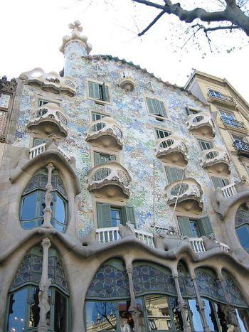 Достопримечательности Барселоны. Дом Бальо. Фото: wikipedia.org