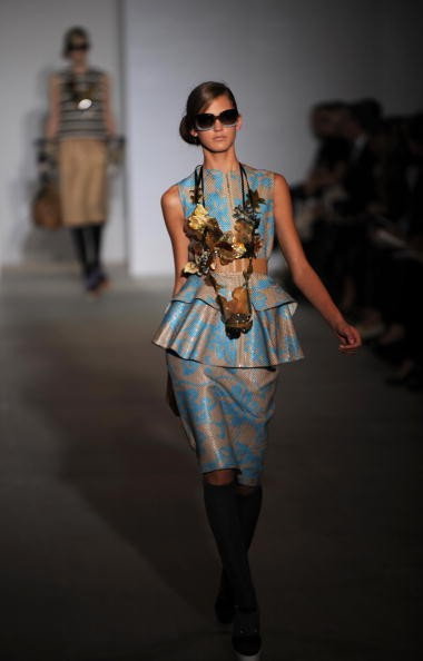 Показ весенне-летней коллекции Marni в рамках Недели высокой моды в Милане. Фото: CHRISTOPHE SIMON/AFP/Getty Images
