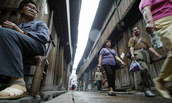 Древний посёлок Учжэнь. Фото: China Photos/Getty Images